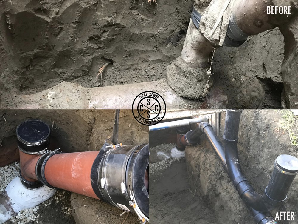 Sewer pipe construction